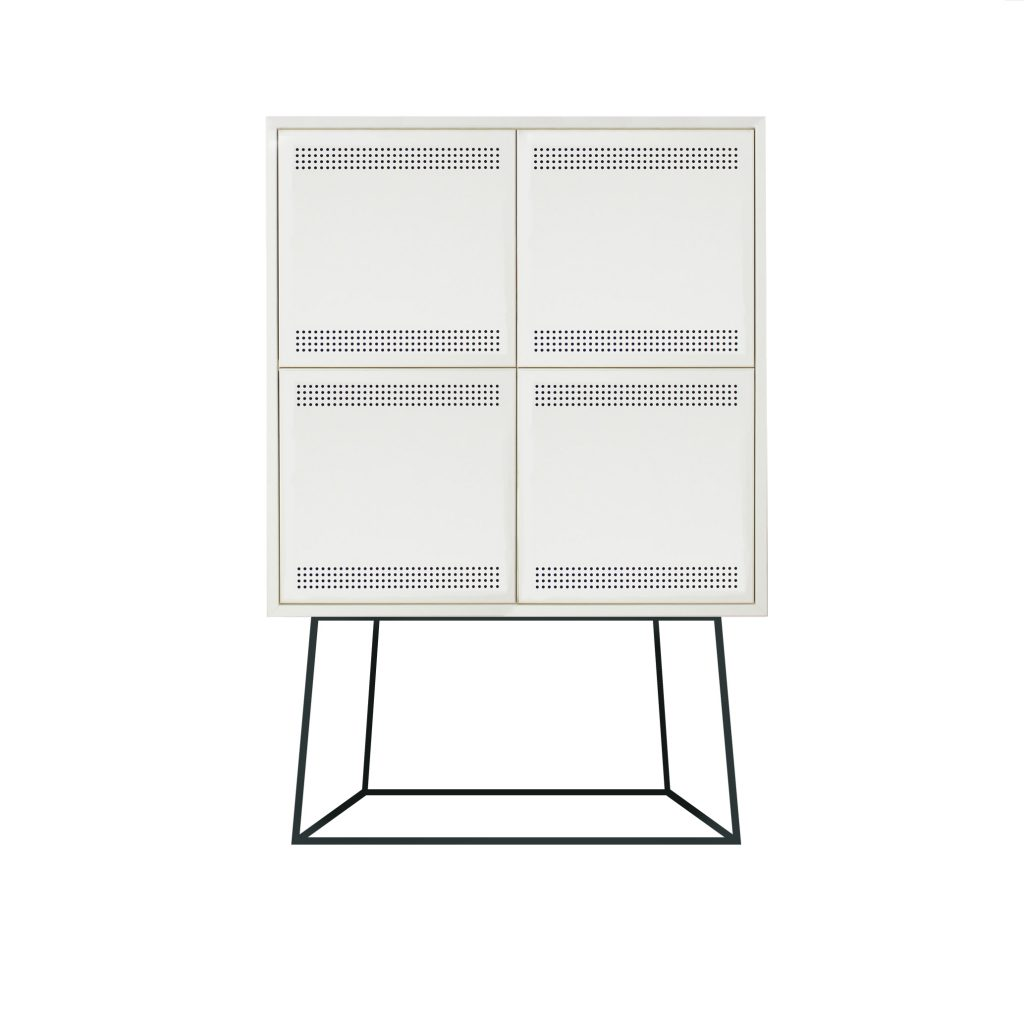 Paper Cabinet Large White