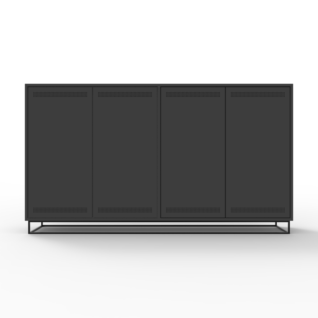 filling-cabinet-horizontal-charcoal-front-view
