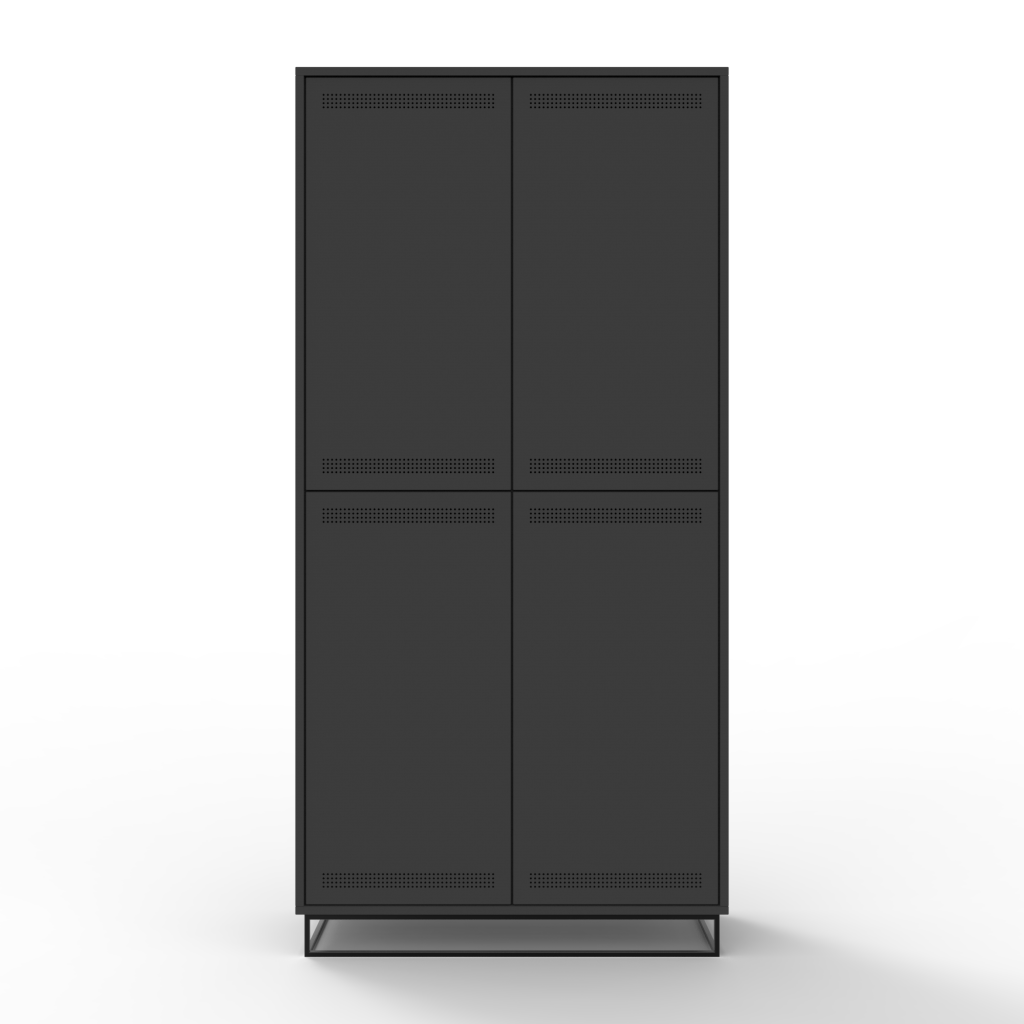 filling-cabinet-vertical-charcoal-front-view
